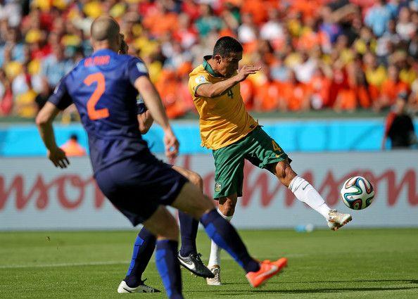 Goal of 2014 World Cup Contender! Tim Cahill (Australia) vs Netherlands
