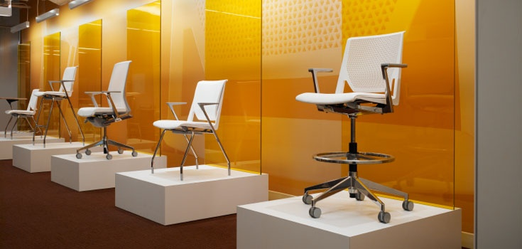 25 best haworth showroom images on pinterest hon office for Idea furniture chicago