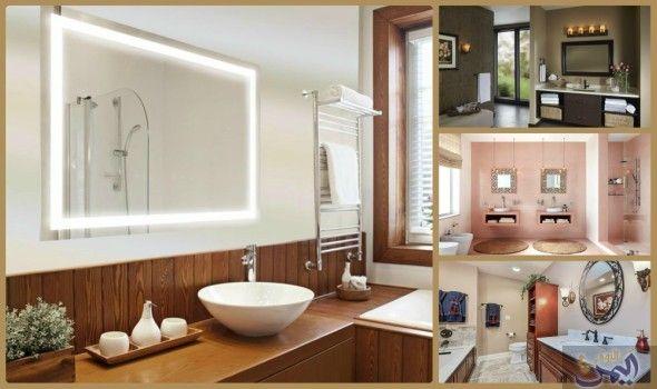 نصائح بسيطة لاختيار أجمل الديكورات المميزة لمرايا الحمام Bathroom Mirror Framed Bathroom Mirror Decor
