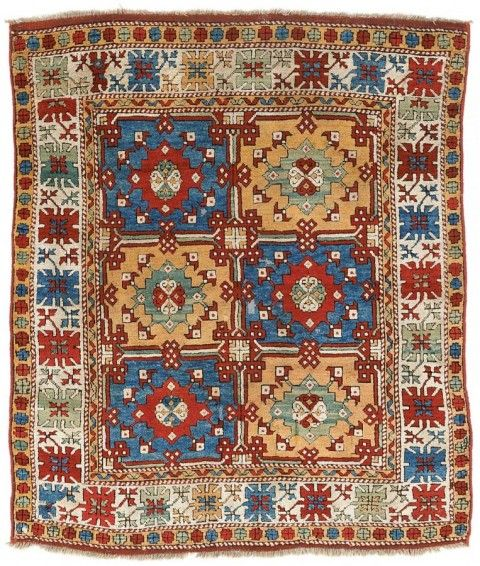 Bergama village rug 19th century 195 x 165 cm.