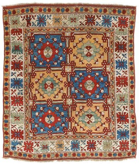 Bergama village rug 19th century 195 x 165 cm.