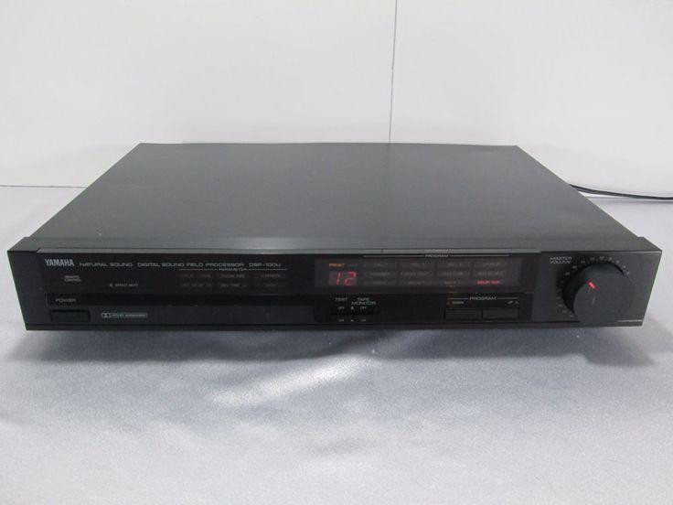 Yamaha Dsp 100u Natural Sound Digital Sound Field Processor Digital Sound Processor Yamaha