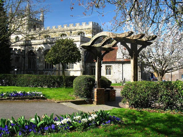My childhood church, St Michaels, Church Square, Basingstoke.