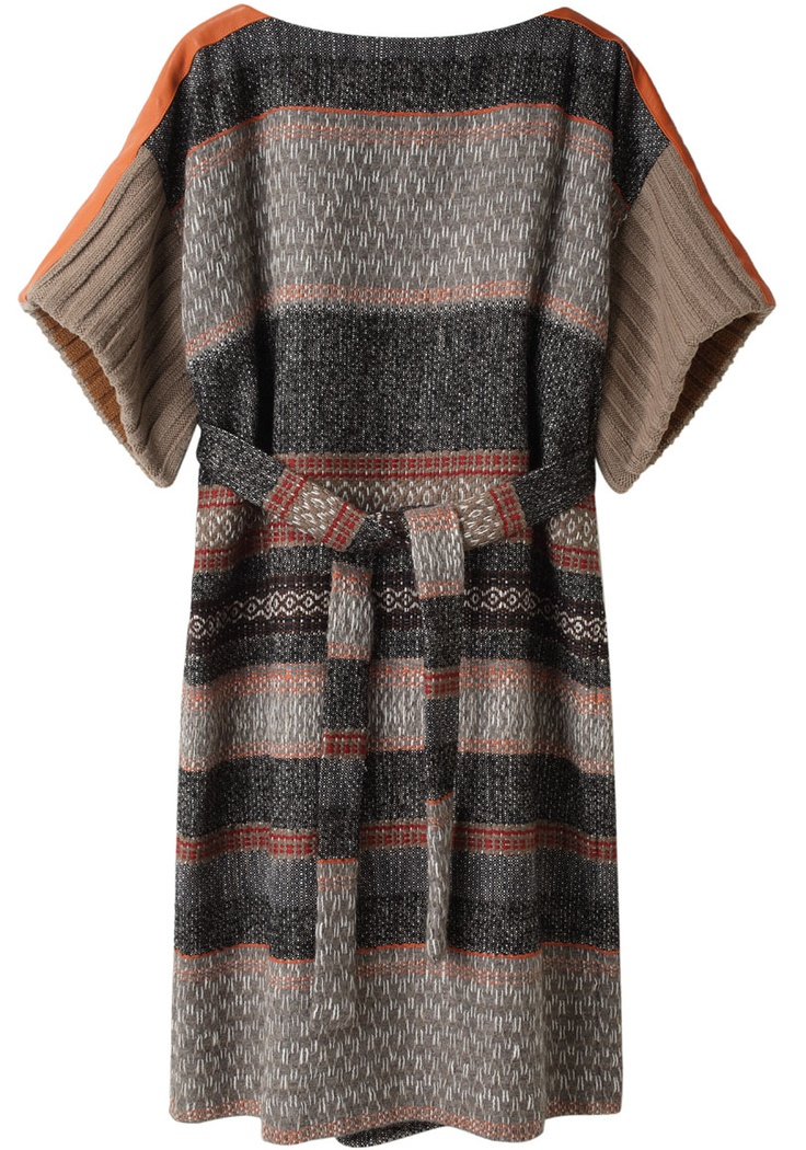 Comfy, Soft, Sensual, Effortless & Lovable Style  Tsumori Chisato Bonotto Stripe Dress.  Way to expensive for me, but what a beautiful mix of colour, soft pattern, and stripe