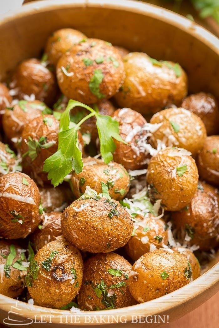 Parmesan Potatoes @ LetTheBakingBeginBlog.com_-9