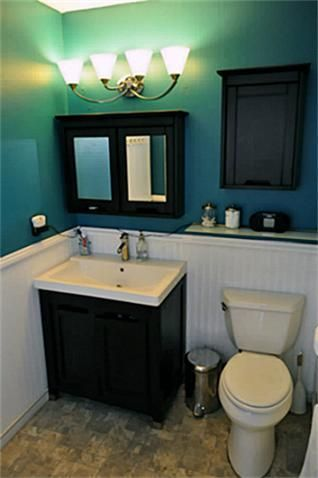 This Is Something I Would Like To Do To Our Downstairs Basement Bathroom Small Bathroom Remodel