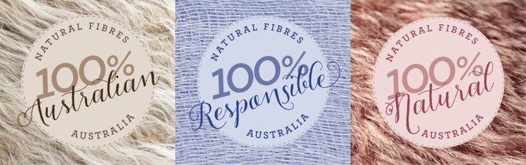 Royal Easter Show Sydney signage for the Natural Fibres Showcase