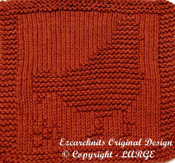 Knitting Cloth Pattern HEN Instant Download by ezcareknits, $3.00