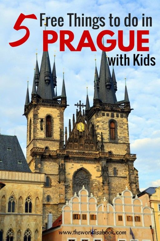 5 Free Things To Do in Prague with Kids - The World Is A Book
