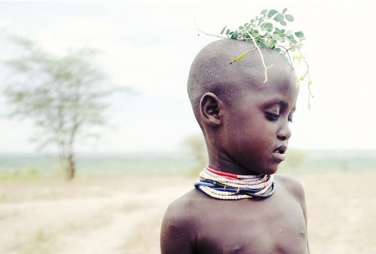 Little boy from lower Omo valley in Ethiopia, captured by Brooklyn-based photograph Tara Rice. #little #boy #Omo #valley - curated by @ethicalfashion1