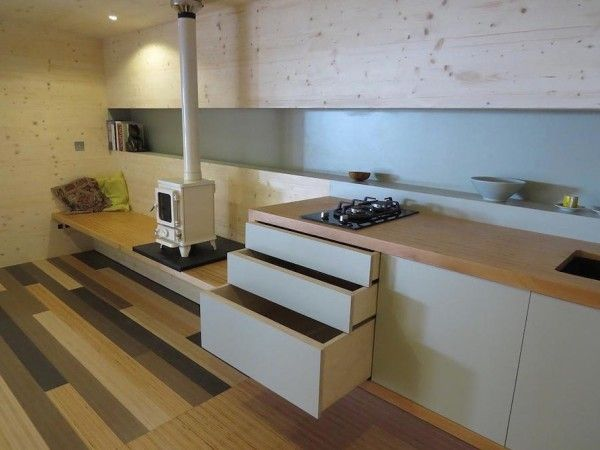 135 Sq Ft Off Grid Wave Cabin by Eco Living 005