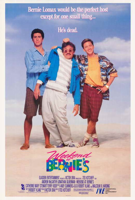 Image result for weekend at bernies movie poster