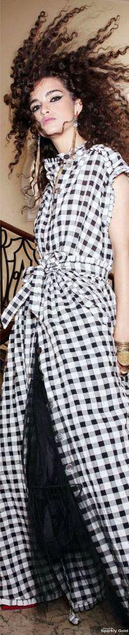 платье-рубашка 2017, клетчатое платье-рубашка