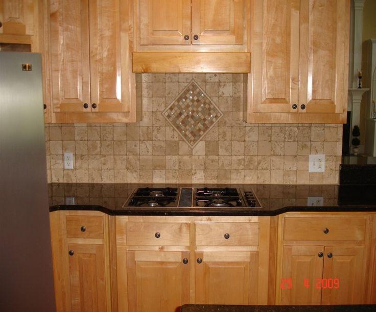 Tuscan Kitchen Stone Tile Backsplash B 8646 Home Gallery Designs