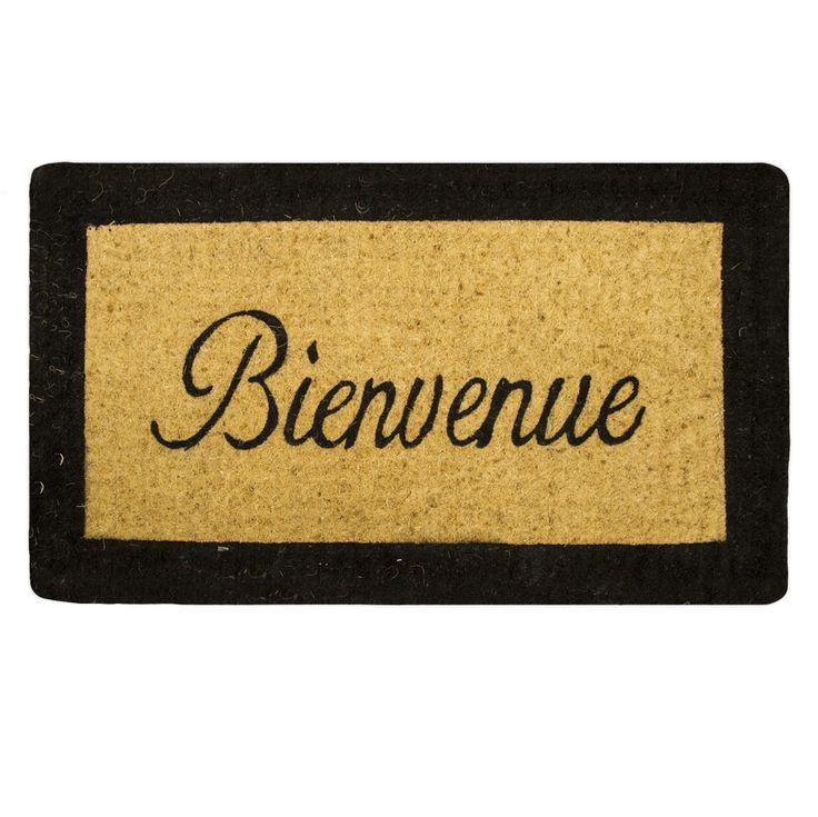 Classic Bienveue Coir Doormat - RUGS & MATS - HOME DECOR