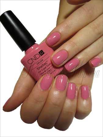 CND Shellac-Rose Bud - my wedding nails