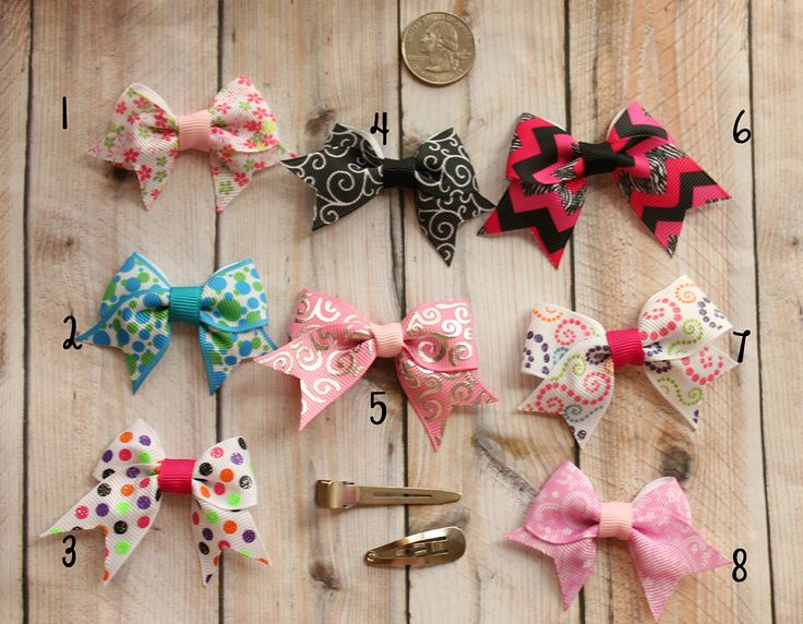 Mini Cheer Bow-mini cheer bow, baby cheer bow, tiny cheer bow, tiny bow, bows for babies, bows for infants,