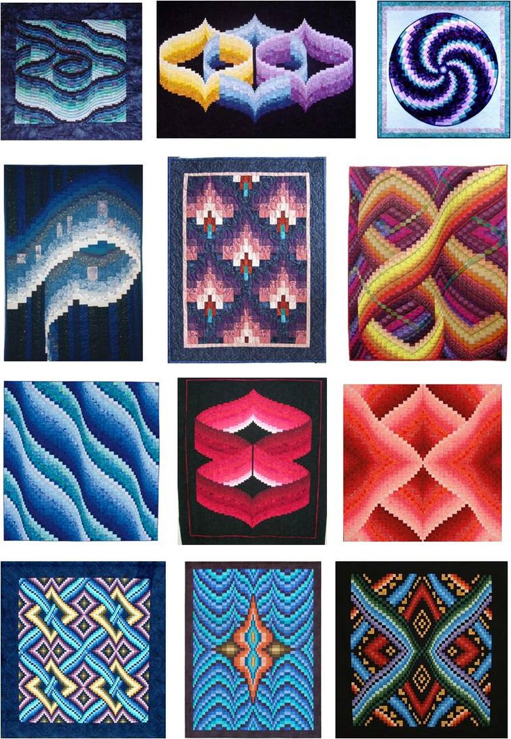 What makes Bargello quilts so interesting is the movement and dimension that can be achieved with this technique. Over the last week, we'v...
