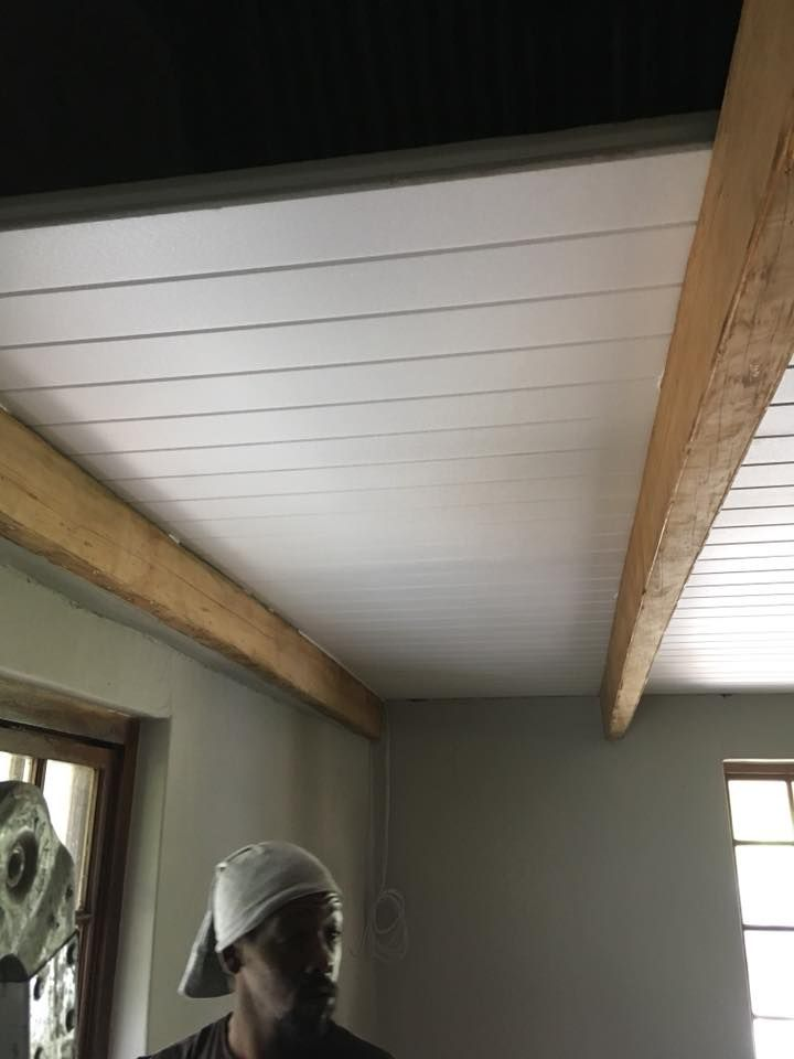 Isoboard Thermal Insulation Can Be Installed As A Ceiling As A Retrofit Beneath An Existing Ceiling Roof Ceiling Garage Ceiling Insulation Roof Truss Design
