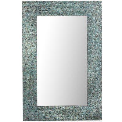 Azure Mosaic Mirror Teal House Pinterest Mosaics