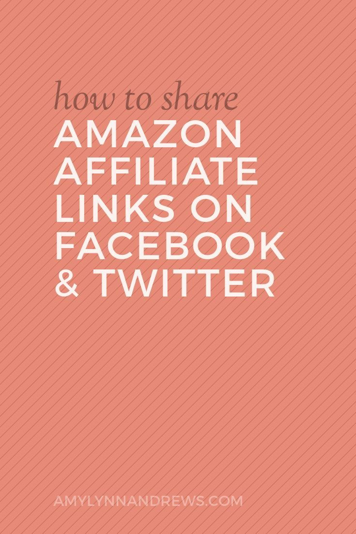 How to Share Amazon Affiliate Links on Facebook and ...