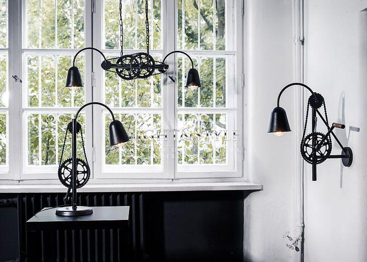 Kaspa BIKE lampa wisząca 10213202 - Sklep Light & Style