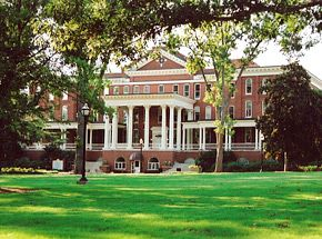 Georgia College & State University - this building is my home, and that door tries to kill me everyday... :/