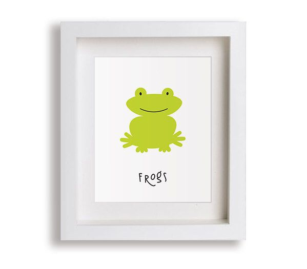 NEW Frogs Nursery Art Print - Baby Boy, Snails, Puppy Dog Tails, Children's Decor, Baby's Nursery, Kids Wall Art, Playroom, Toddler Room by NikoAndLily on Etsy https://www.etsy.com/listing/225194205/new-frogs-nursery-art-print-baby-boy