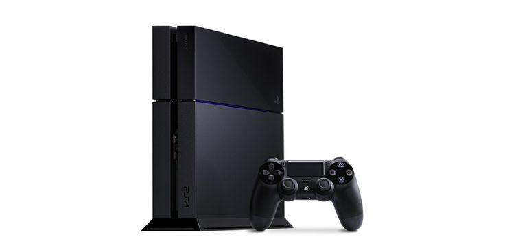 Playstation®4 - Konsola PlayStation®4 w kolorze czarnym z pamięcią masową 500 GB i kontrolerem bezprzewodowym DualShock®4