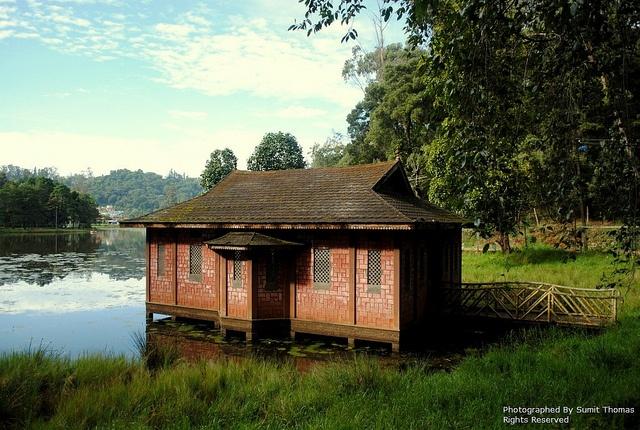Boat house @ Kodaikanal Lake, India