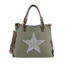 Estrella señora Shopper pedrería bandolera bolso de mano de tela de lona blogueros Bag: 32,95 EUREnd Date: 01-sep 20:45Buy It Now for only:…