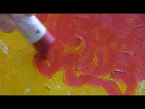 Painting Techniques with Sennelier Oil Sticks - YouTube