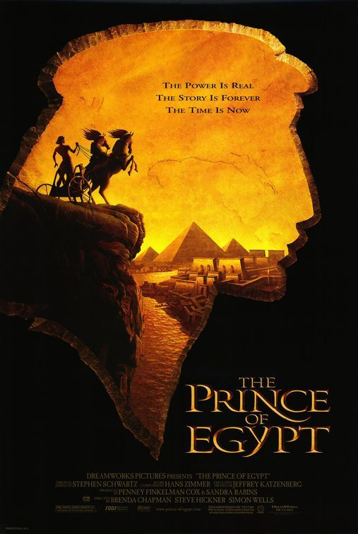 """The Prince of Egypt"" - An Egyptian prince learns of his identity as a Hebrew and, later his destiny to become the chosen deliverer of his people. (1998)"