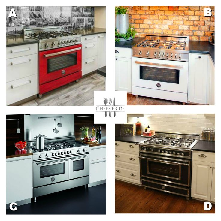 #TakeYourPick! So if you could choose, which #Bertazzoni stove would YOU love in your kitchen?? A, B, C or D? Tell us! Tag your friends and ask them too!