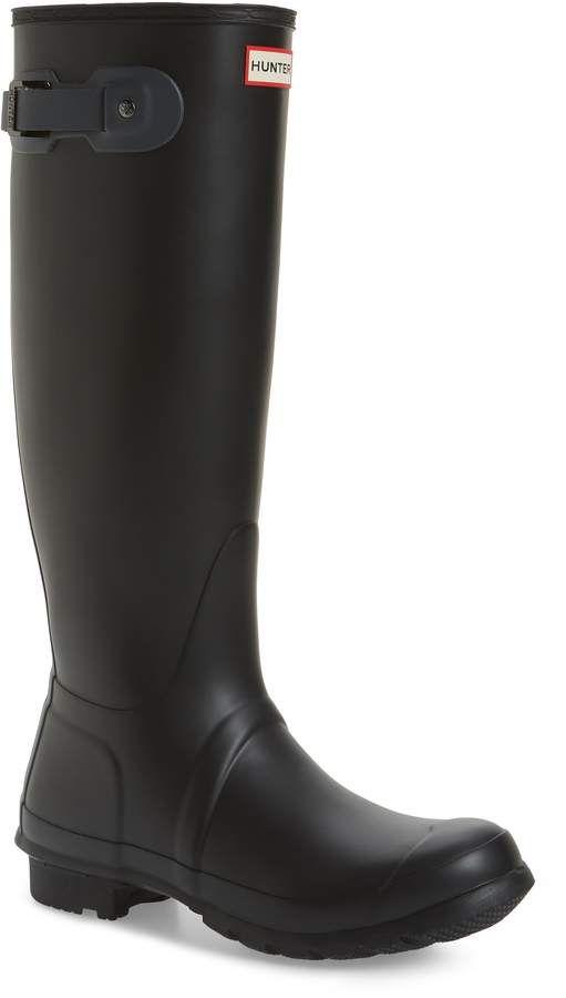09ca83b3fd5 Hunter Original Tall Rain Boot under  100! Save  50!