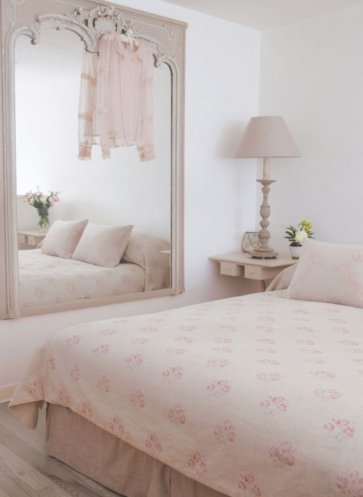Kitty is a bedroom favourite, understated and elegant; the pretty pink is vintage home heaven. Repin to dreamy bedroom inspirations!