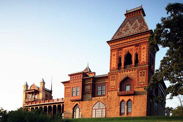 Olana, the Persian-style estate of famous Hudson River School painter Frederic Church (1826-1900)