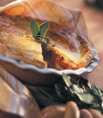 Tarte de batata. Veja a receita em: http://www.batatasdefranca.com/receitas/pratos.html#!prettyPhoto[tarte_batata]/0/