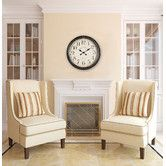 """Found it at Wayfair - Oversized 24.5"""" Whitley Wall Clock"""