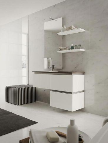 Arredare l'ambiente bagno, Arredo bagno stile moderno