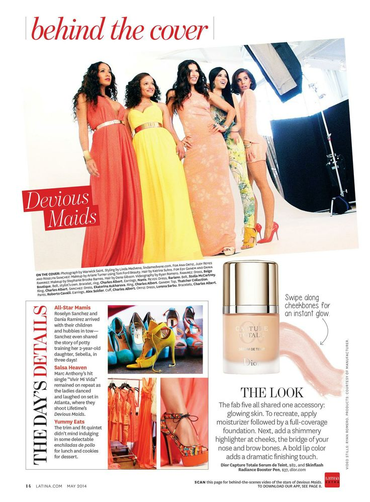 @Latina Magazine is the definitive fashion, beauty, culture and lifestyle magazine for Latin women. In their latest issue, they used interactive print with @Layar to add extra content and interaction features to the pages.