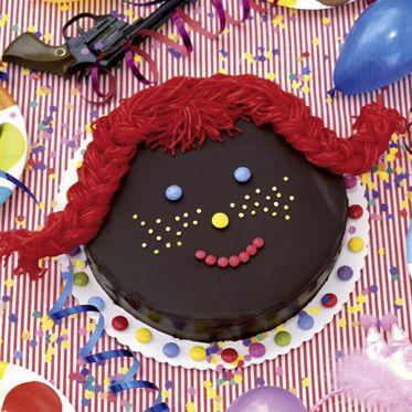 Pippi-Langstrumpf-Torte Rezept | Küchengötter