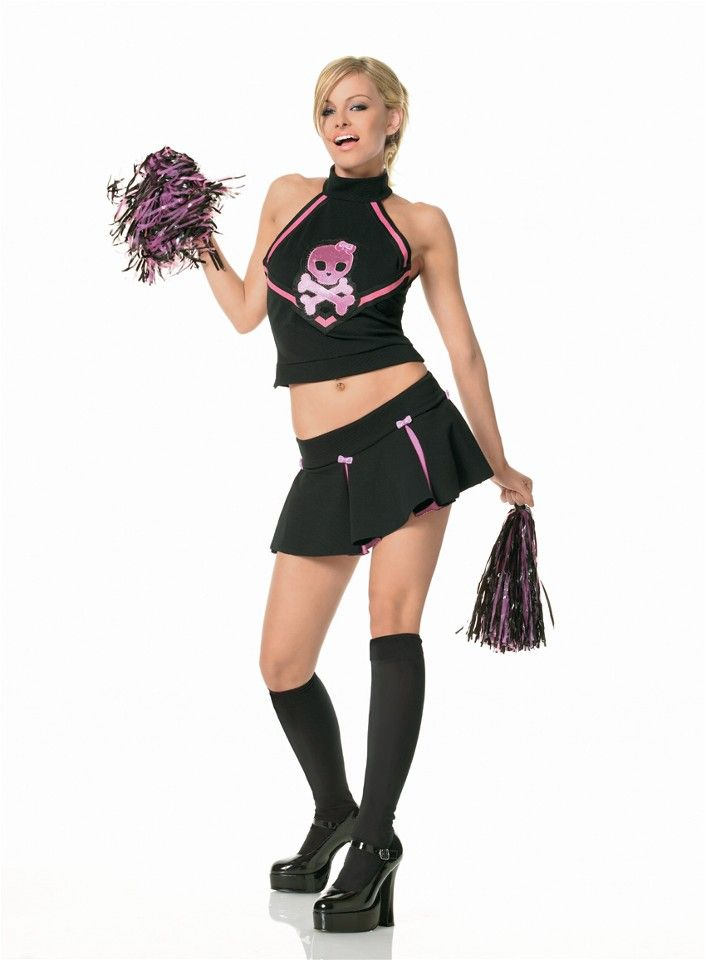 The Morbid Cheerleader Costume £36.99 : Direct 2 U Fancy Dress Superstore. http://direct2ufancydress.com/the-morbid-cheerleader-costume-p-3184.html