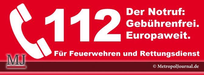 (HAS) 112 - EU-einheitliche Notrufnummer - 11.2. Tag des Euronotrufs - http://metropoljournal.de/?p=8503