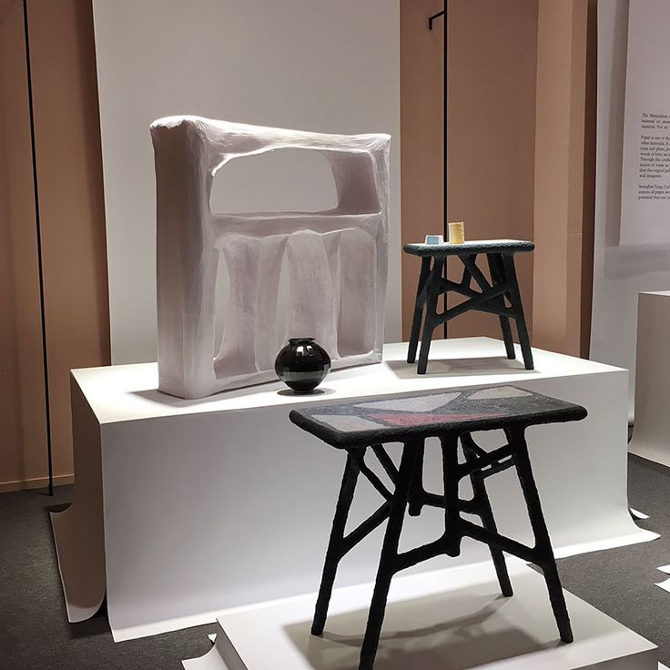 'Paper'by The Materialists.  Today at Dutch Design Week we visit TAC Temporary Art Centre.