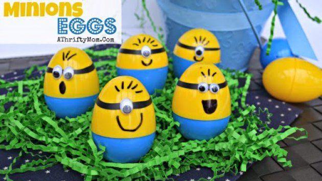 Αυγουλάκια Minions | www.pamebolta.gr