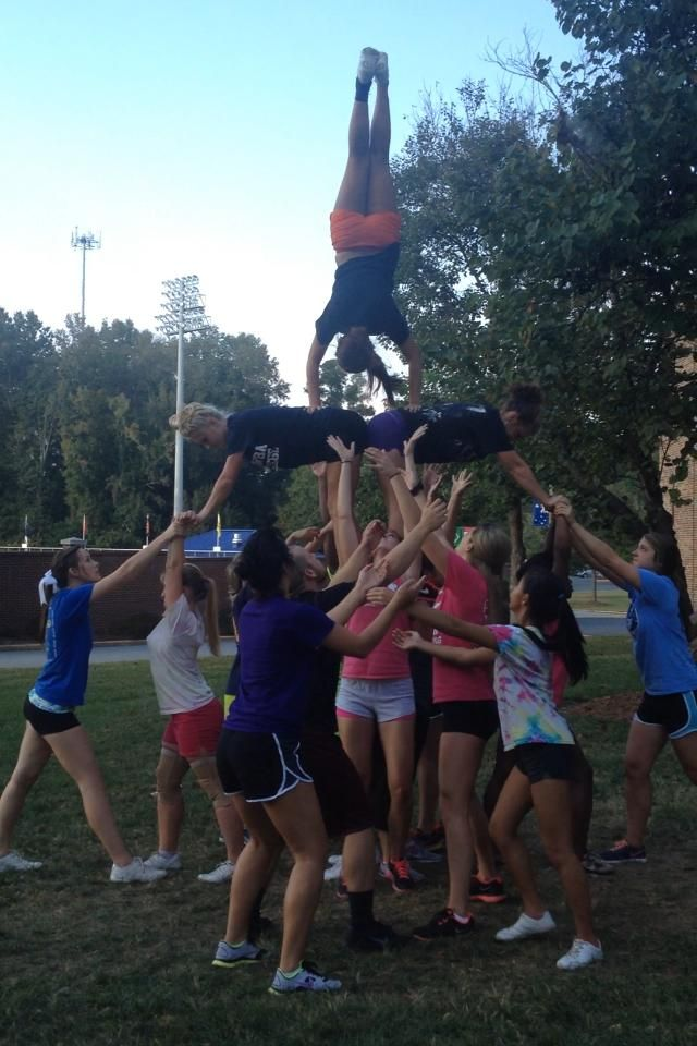 Catawba College Cheerleading!