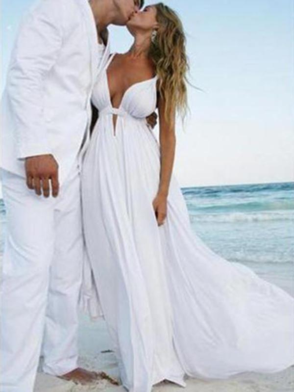 Simple Wedding Dress, Wedding Dress For Cheap, Wedding Dress Chiffon, Wedding Dress Wedding Dresses 2018 White Beach Wedding Dresses, Wedding Dress Chiffon, Backless Wedding, Cheap Wedding Dress, Wedding White, Wedding Shoes, Wedding Gowns, Tulle Wedding, Mermaid Wedding