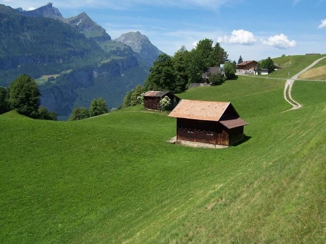 Hasliberg – peaceful little villages above Meiringen