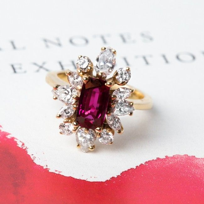 Purple Sapphire Engagement Rings